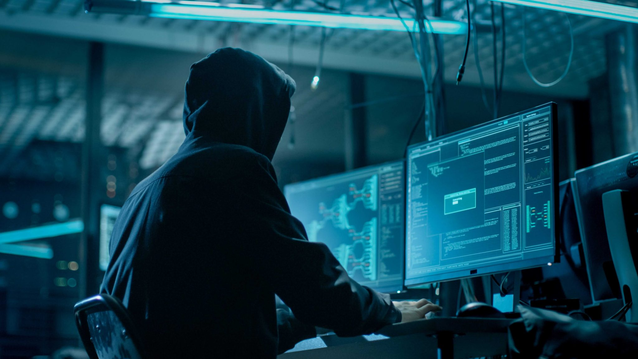 a hackers try to penetrate to a website
