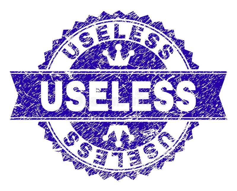get ride of everything useless
