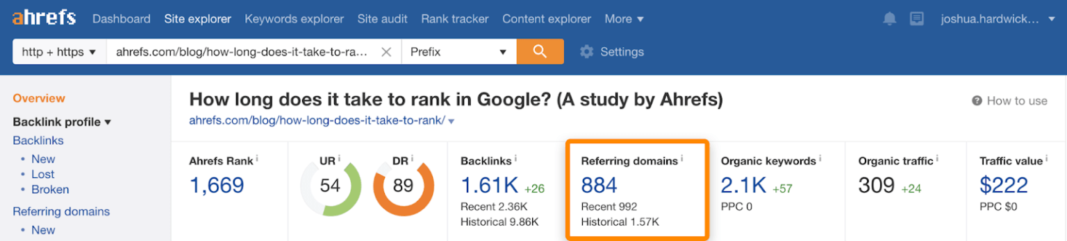 ranking-in-google-study-referring-domains